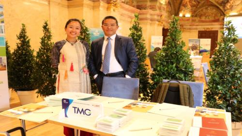 Thien Minh Group sponsored Vietnam Tourism Roadshow in Vienna, Austria