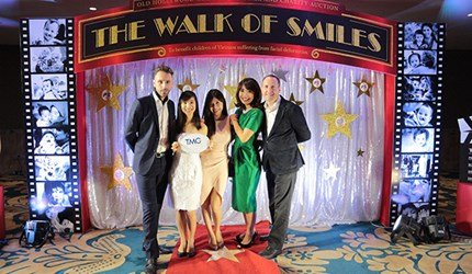 "TMG in Operation Smile's 24th Gala Dinner and Charity Auction ""The Walk of Smiles"" as a table sponsor"
