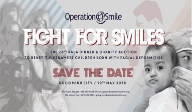 "TMG in Operation Smile's 28th Gala Dinner and Charity Auction ""Fight For Smiles'"