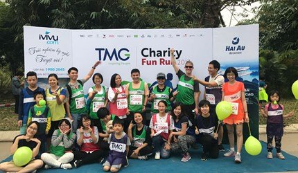 Thien Minh Group helps poor people in Vietnam through Charity Fun Run Program of BBGV