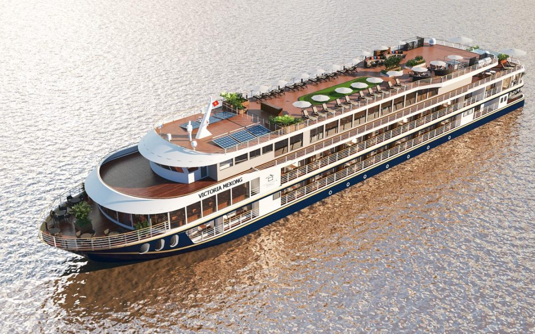 Keel Laying Ceremony For Victoria Mekong Cruise Ship