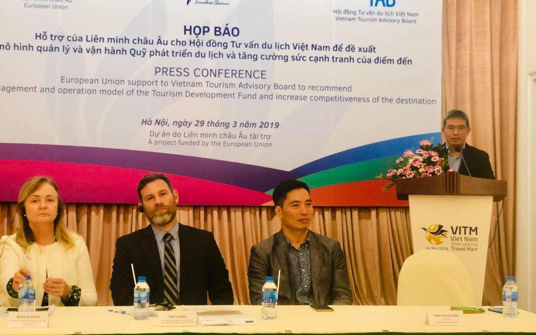 European Union Support to Viet Nam Tourism Advisory Board (TAB) in the  development of  the management and operation model of the Tourism Development Fund and increase competitiveness of the destination