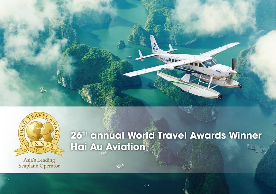 Hai Au Aviation recognized as Asia's Leading Seaplane Operator
