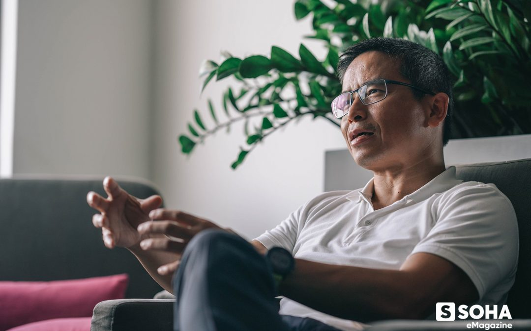 Tran Trong Kien – the CEO of a one trillion dong group who is comfortable wearing the same shoes for 10 years pledged donating a lifetime charity funds for Fulbright University Vietnam.